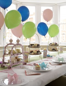 Kids Party in Club Room at Beaufort House, this room can also be used as a screening room and there is enough room for an entertainer