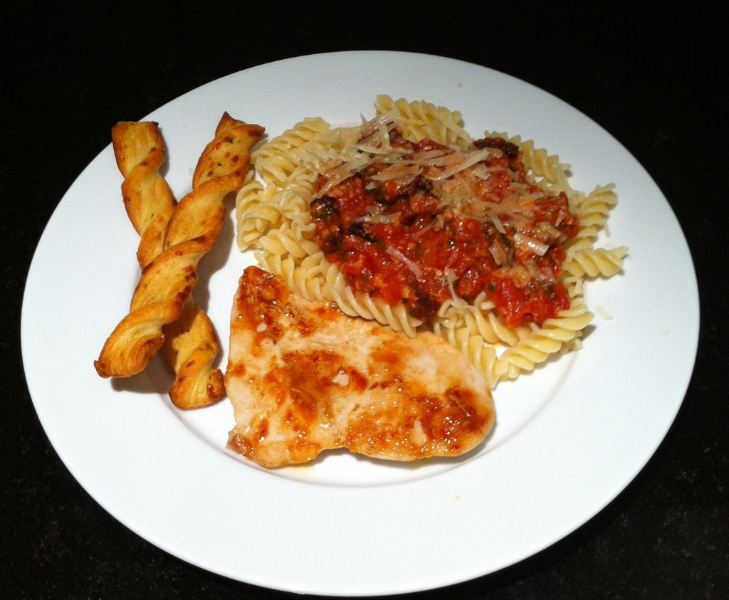 kid friendly quick and easy red pesto pantry pasta