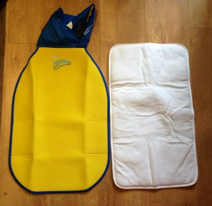 huggies hygiene mat unfolded