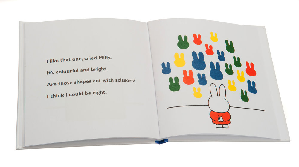 Miffy book for Highlight PR